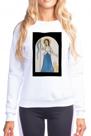 Sweatshirt - St. Joan of Arc by A. Olivas