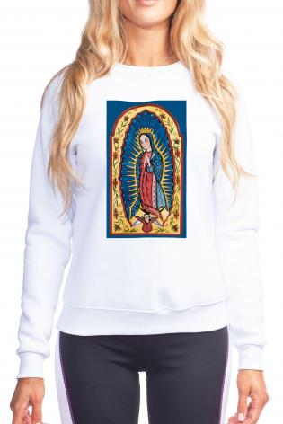 Sweatshirt - Our Lady of Guadalupe by A. Olivas