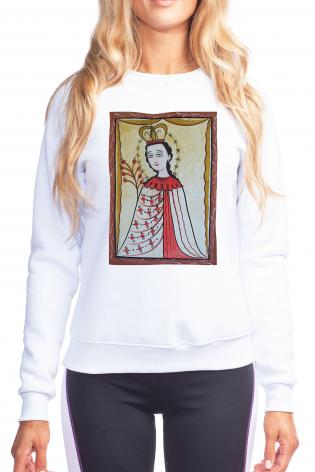 Sweatshirt - Our Lady of the Roses by A. Olivas