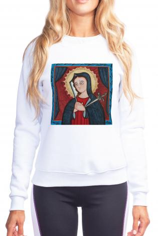 Sweatshirt - Mater Dolorosa - Mother of Sorrows by A. Olivas
