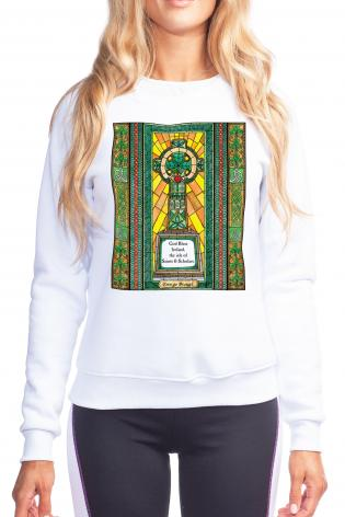 Sweatshirt - Celtic Cross by B. Nippert