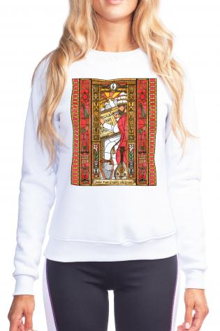 Sweatshirt - St. Gregory the Great by B. Nippert