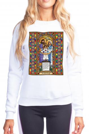 Sweatshirt - Holy Family by B. Nippert