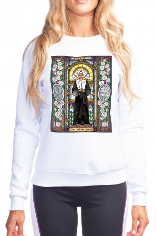 Sweatshirt - St. Catherine Labouré by B. Nippert