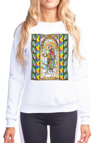 Sweatshirt - Our Lady of China by B. Nippert