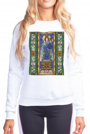 Sweatshirt - Our Lady of Consolation by B. Nippert