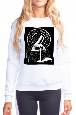 Sweatshirt - Mater Dolorosa - Mother of Sorrows by D. Paulos