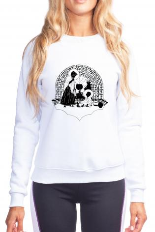 Sweatshirt - Our Lady, Servant by D. Paulos