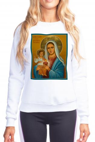 Sweatshirt - Our Lady of the Sacred Heart by J. Cole