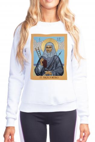 Sweatshirt - St. Angela Merici by L. Williams