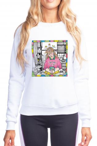 Sweatshirt - St. Anna the Prophetess by M. McGrath