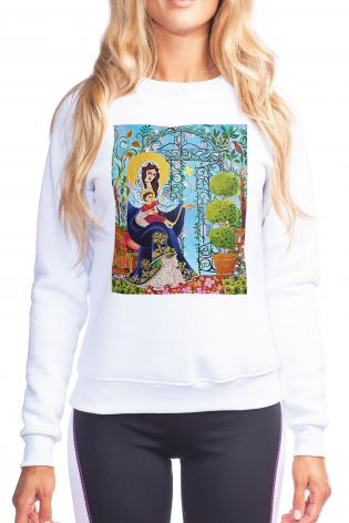 Sweatshirt - Mary, Gate of Heaven by M. McGrath