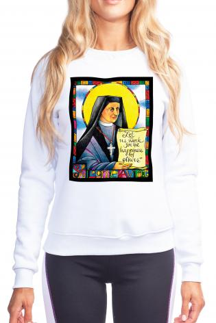 Sweatshirt - St. Leonie Aviat by M. McGrath