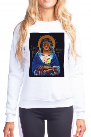 Sweatshirt - Our Lady of Light: Help of the Addicted by M. McGrath