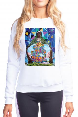 Sweatshirt - Mary, Our Lady of Refuge by M. McGrath