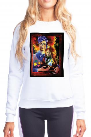 Sweatshirt - Madonna of the Holocaust by M. McGrath
