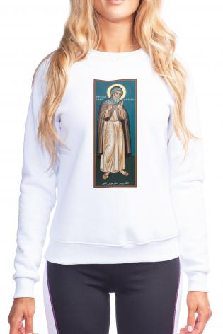 Sweatshirt - St. Antony of Egypt by R. Lentz