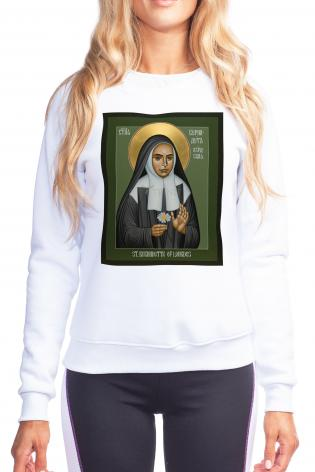 Sweatshirt - St. Bernadette of Lourdes by R. Lentz