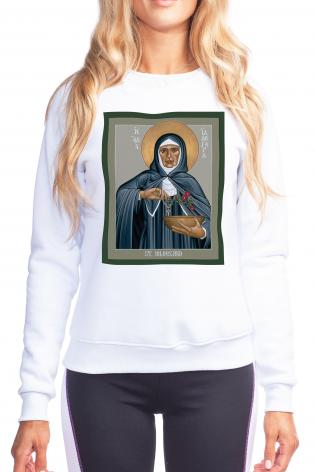 Sweatshirt - St. Hildegard of Bingen by R. Lentz