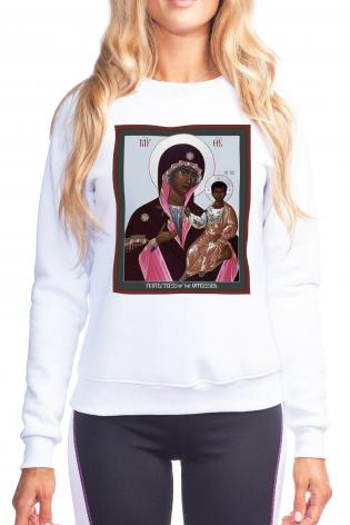 Sweatshirt - Mother of God: Protectress of the Oppressed by R. Lentz