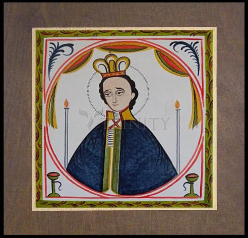 Wood Plaque Premium - St. Fernando by A. Olivas
