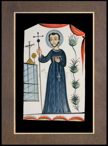 Wood Plaque Premium - St. John of God  by A. Olivas
