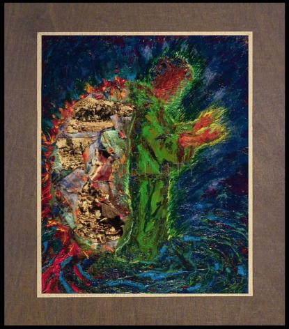 Wood Plaque Premium - In The Wilderness by B. Gilroy