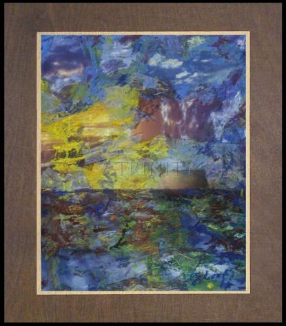 Wood Plaque Premium - Let There Be Light by B. Gilroy