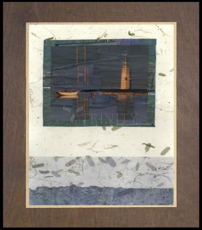 Wood Plaque Premium - Water Reflections by B. Gilroy