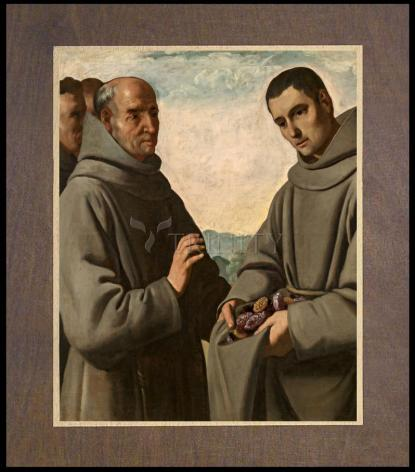 Wood Plaque Premium - St. Didacus of Alcalá by Museum Art