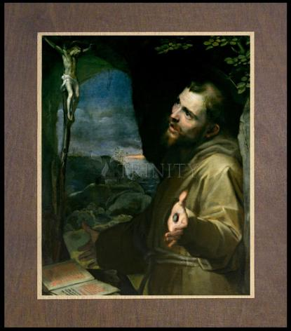 Wood Plaque Premium - St. Francis of Assisi by Museum Art