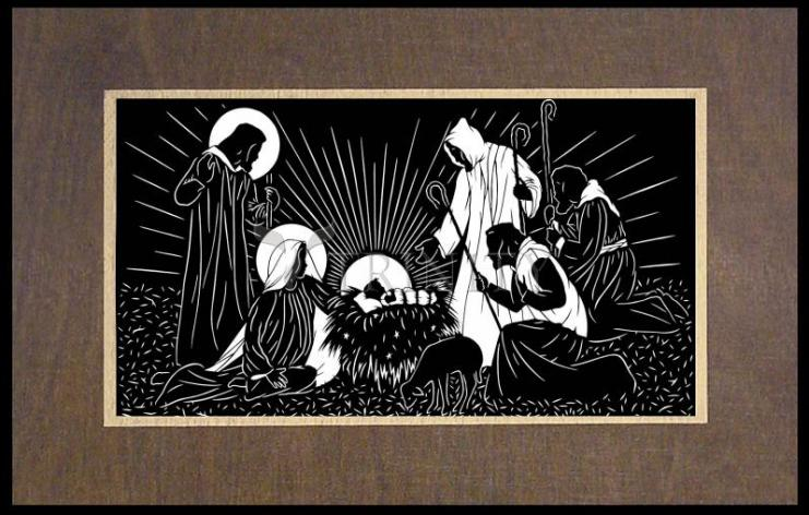 Wood Plaque Premium - Shepherd's Song by D. Paulos