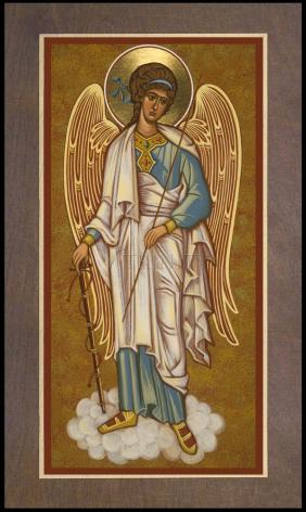 Wood Plaque Premium - Guardian Angel by J. Cole