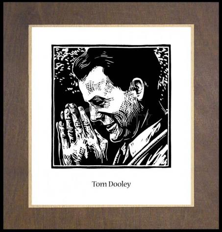 Wood Plaque Premium - Tom Dooley by J. Lonneman