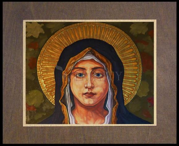 Wood Plaque Premium - Annunciation by L. Williams
