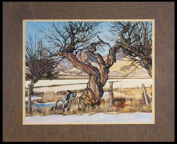 Wood Plaque Premium - Spring Stirring in the Roots by L. Williams