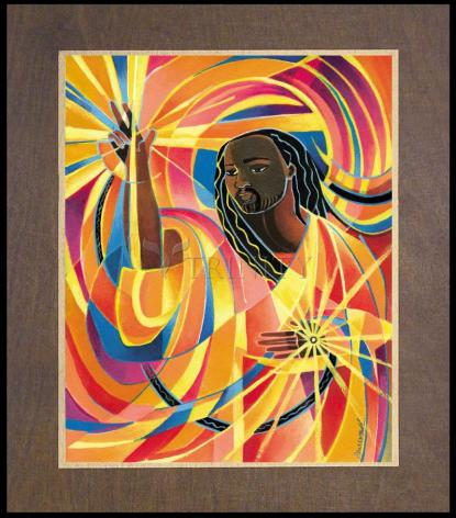 Wood Plaque Premium - Lord of the Dance by M. McGrath