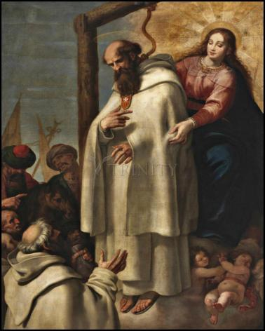 Wood Plaque - Martyrdom of St. Peter Armengol by Museum Art