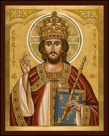 Wood Plaque - Christ the King by J. Cole