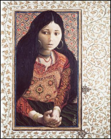 Wood Plaque - The Daughter of Jairus by L. Glanzman