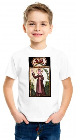 Youth T-shirt - St. Francis of Assisi by A. Olivas
