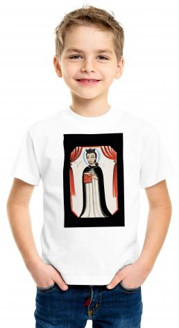 Youth T-shirt - St. Ignatius of Loyola by A. Olivas