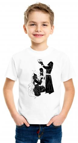Youth T-shirt - Behold Thy King by D. Paulos