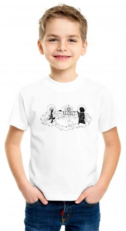 Youth T-shirt - Respect by D. Paulos