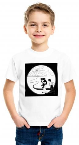 Youth T-shirt - Come to the Stable by D. Paulos