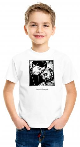 Youth T-shirt - St. Aloysius Gonzaga by J. Lonneman