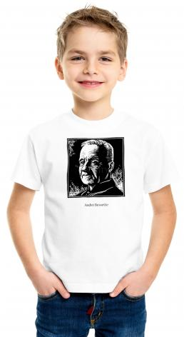 Youth T-shirt - St. André Bessette by J. Lonneman