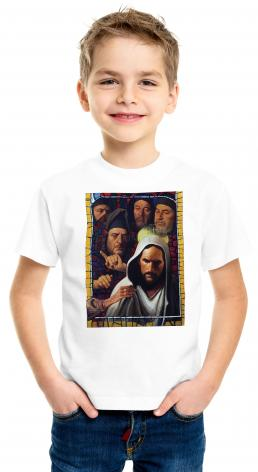 Youth T-shirt - Jesus' Foes by L. Glanzman