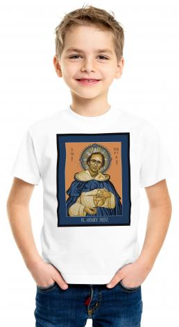 Youth T-shirt - Bl. Henry Suso by L. Williams
