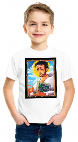 Youth T-shirt - St. Columcill by M. McGrath